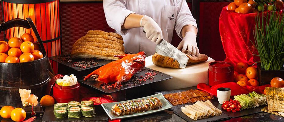 ฉลองเทศกาลตรุษจีนต้อนรับปีกุนที่ห้องอาหาร อัพ แอนด์ อะบัฟ