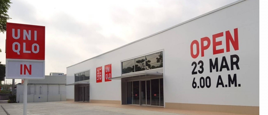 """ยูนิโคล่ เปิดตัวร้านยูนิโคล่ พัฒนาการ """"โรดไซด์ สโตร์"""" แห่งแรกในภูมิภาคเอเชียตะวันออกเฉียงใต้"""