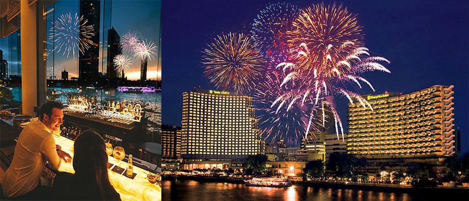 โรงแรมแชงกรี-ลา กรุงเทพฯ ร่วมเฉลิมฉลองค่ำคืนส่งท้ายปีเก่า ต้อนรับปีใหม่พ.ศ. 2563