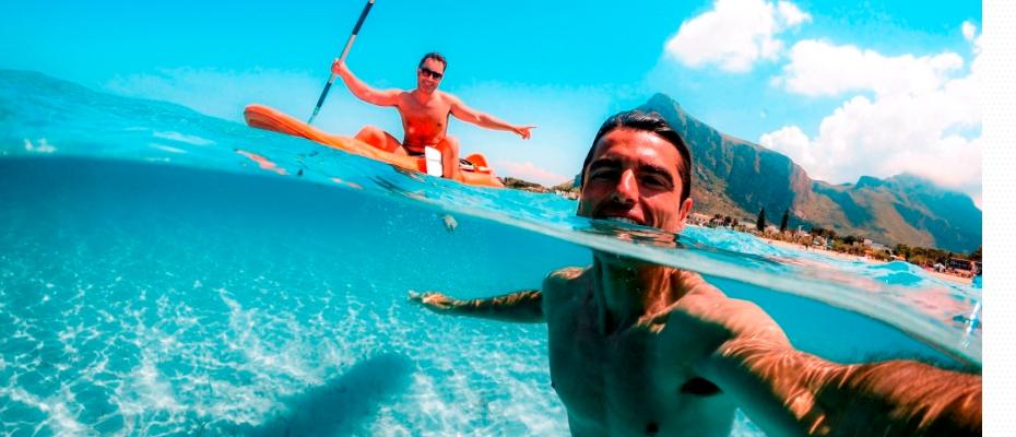 แชร์ช่วงเวลาแสนสนุกของวันหยุดพักผ่อนริมชายหาดผ่านรูปถ่าย ด้วย 4 เทคนิคสุดคูลจาก GoPro