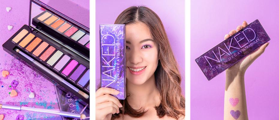The New NAKED Palette สีม่วงพาสเทลสุดคิ้วท์!