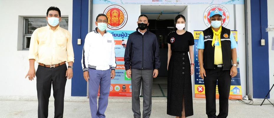 ปัดฝุ่นเทคนิคมีนบุรีฯ เริ่มเปิดรองรับผู้ป่วยโควิดกลุ่มสีเขียว 143 เตียง