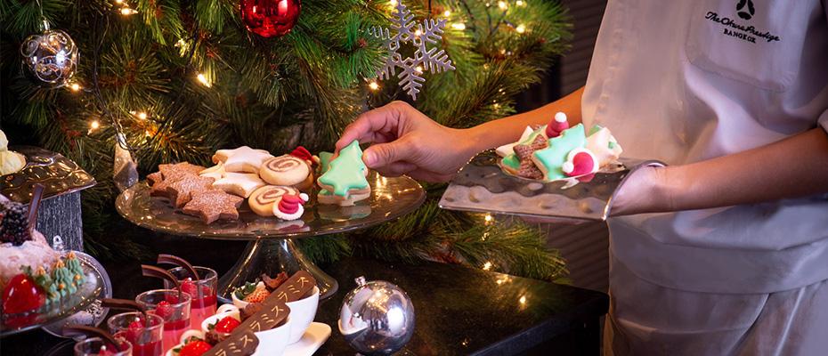 ฉลองเทศกาลคริสต์มาส เทศกาลแห่งความสุข ณ โรงแรม ดิ โอกุระ เพรสทีจ กรุงเทพฯ