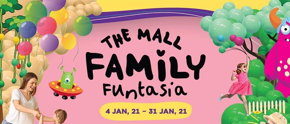 """เดอะมอลล์ ช้อปปิ้งเซ็นเตอร์ พร้อมประสบการณ์การช้อปปิ้ง หรรษาทั้งครอบครัว ในงาน """"THE FAMILY FUNTASIA 2021"""""""