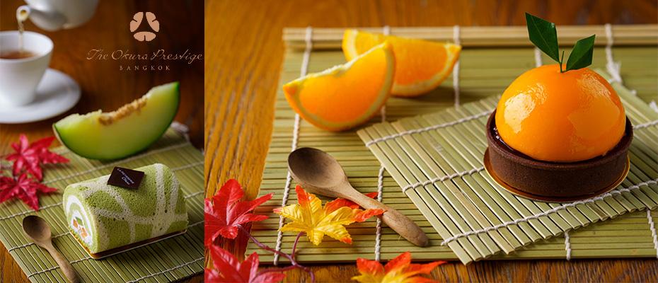 ร้านขนมลา พาทิสเซอร์รีแนะนำขนมเค้กในสีสันฤดูใบไม้เปลี่ยนสีที่ประเทศญี่ปุ่น