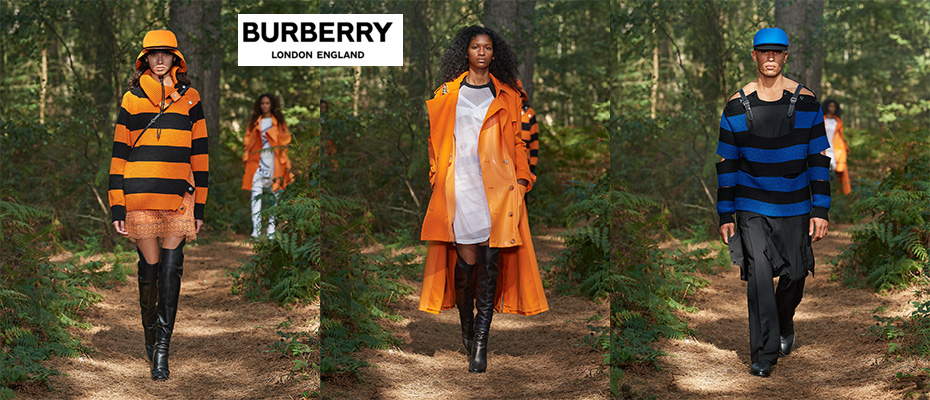 "Burberry เปิดตัว คอลเล็กชั่น Spring / Summer 2021 ""In Bloom"""