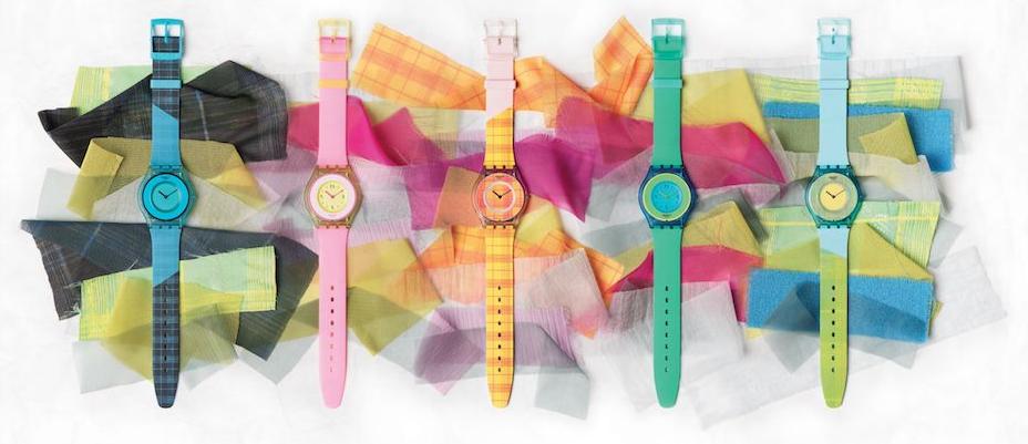 Swatch อวดนาฬิกาที่บางเหมือนผิวของคุณ